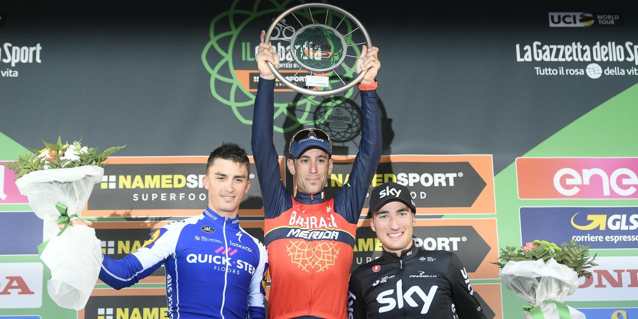 Vincenzo Nibali concede il bis e fa 50 vittorie a Il Lombardia
