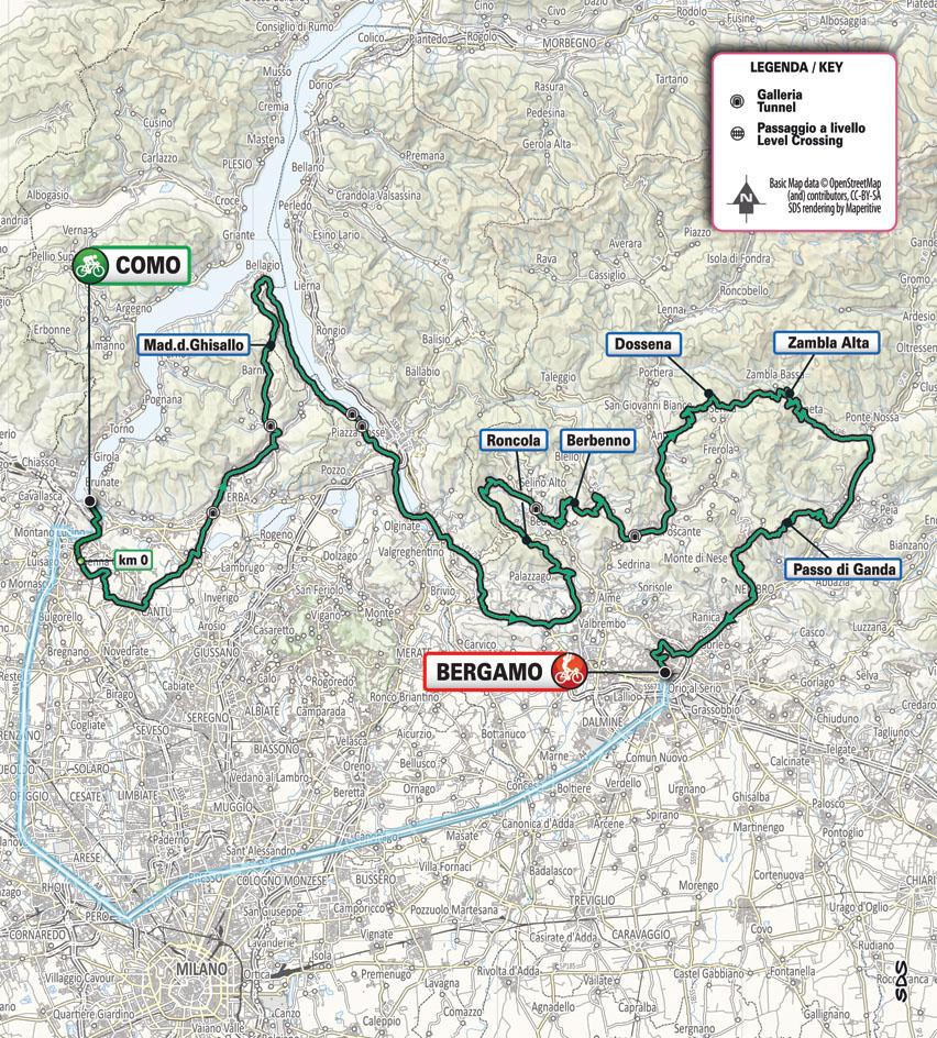 Il Lombardia 2021 Planimetria Planimetry